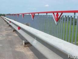 11МО Мостовые ограждения барьерного типа - фото 3