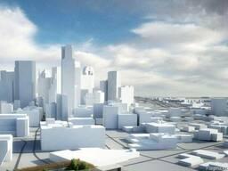 3д моделирование зданий и сооружений.