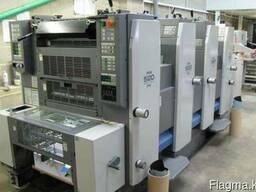 4-х красочная офсетная листовая печатная машина Ryobi 520GE