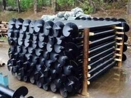 Ø76мм толщина стенки-3,5мм-производство винтовых свай