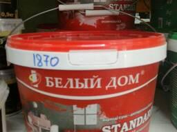 Акриловая водно-дисперсионная краска протирающаяся - 10 кг