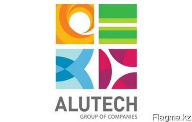 Алюминиевые изделия Алютех, окна, витражи, фасады в Алматы