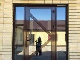 Алюминиевые конструкции двери окна витражи