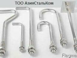 Анкерный болт ГОСТ 24379-80 2,1 М42 х450
