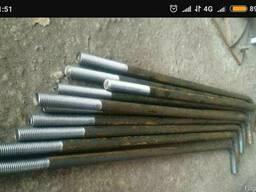 Анкерные фундаментные М30, М36, М42 из любой стали