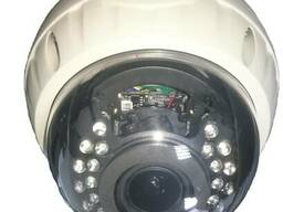 Антивандальная купольная IP камера, 1,3MP, (960P), с ночным
