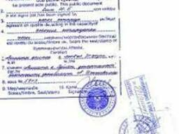 Apostille information the criminal record of Kazakhstan.Asta