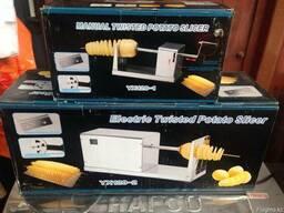 Аппарат для нарезки спиральной картошки, спиральных чипсов