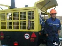 Аренда дорожного компрессора ПКСД 5,25 ДМ
