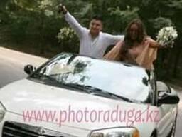 Аренда, прокат белого кабриолета Chrysler - фото 1