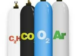 Аргон,Углекислота,Азот