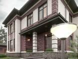 Архитектурный, эскизный проект дома, коттеджа, зданий - фото 1