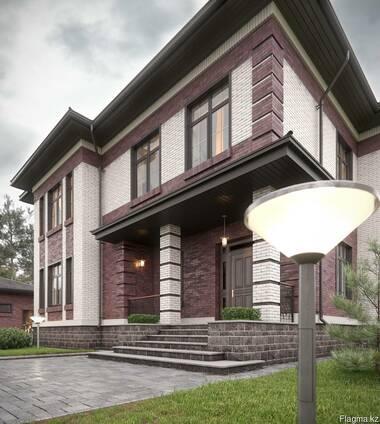 Архитектурный, эскизный проект дома, коттеджа, зданий