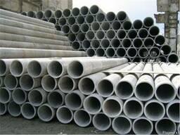 Асбестоцеменьные трубы 300мм,400мм,500мм(с муфтой)