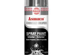 Asmaco аэрозольная краска (chrome silver) хромированное сере