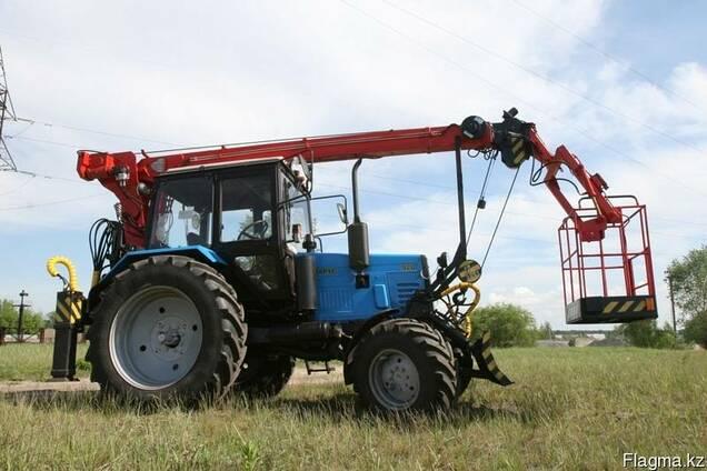 Автогидроподъемник на базе трактора МТЗ, 11 метров