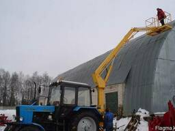 Автогидроподъемник на базе трактора МТЗ, 11 метров - фото 2