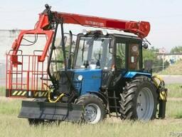 Автогидроподъемник на базе трактора МТЗ, 11 метров - фото 4