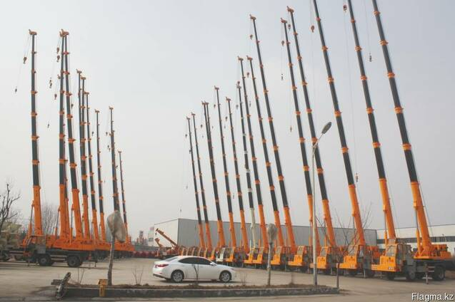 Автокран 12 тонн подъемник-платформа(250 кг). 40 метров.