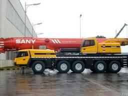 Автокран вездеходный SANY SAC2200