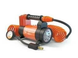 Автомобильный компрессор (насос для шин) 50 литров с фонарем