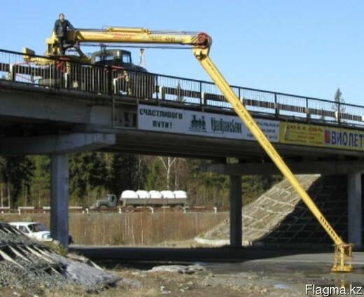 Автовышка для обсуживания мостов