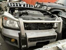 Силовой бампер на Toyota Land Cruiser Prado 120. 95. 78.