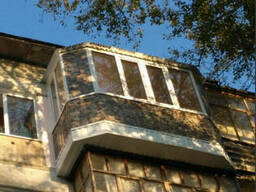 Балконы под ключ в костанае