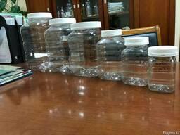 Банки пластиковые, в ассорименте
