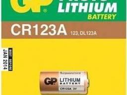 Батарейки GP Lithium CR123A (CR123A-CR1) комплект - 1. ..