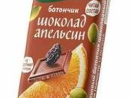 Батончик Ол лайт 30г (Шоколадный с апельсином)