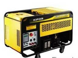 Бензиновый генератор kipor KGE 12 A
