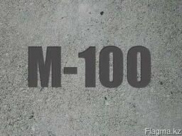 Бетон строительный М 100 (В 7,5)
