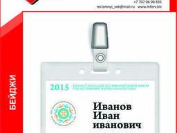 Бейдж с логотипом Ассамблеи народа Казахстана