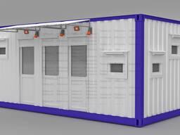 Блок-модуль (лаборатория). Казахстан, г. Костанай.