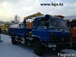 Бортовой DONG FENG 10тонн с КМУ XCMG 3, 2 тонны