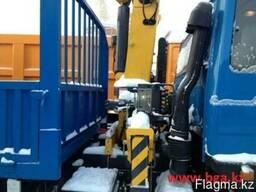 Бортовой DONG FENG 10тонн с КМУ XCMG 3,2 тонны - фото 2