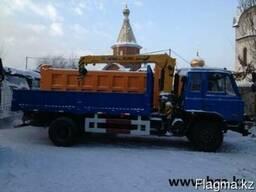 Бортовой DONG FENG 10тонн с КМУ XCMG 3,2 тонны - фото 3