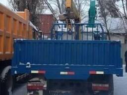 Бортовой DONG FENG 10тонн с КМУ XCMG 3,2 тонны - фото 4