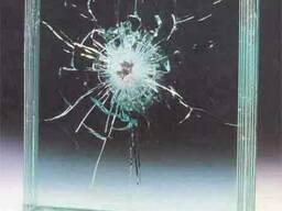 Бронированное пулестойкое стекло