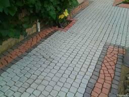 Брусчатка тротуарная Веерный элемент