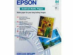 Бумага Epson Matter Paper A4 C13S041342