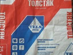 Бумажный мешок для фасовки сухих строительных смесей