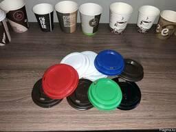 Бумажные стаканы для холодных и горячих напитков. - фото 2