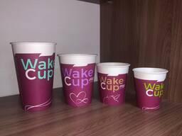 Бумажные стаканы для холодных и горячих напитков. - фото 3