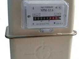 Бытовой счетчик газа мембранного типа NPM 1, 6