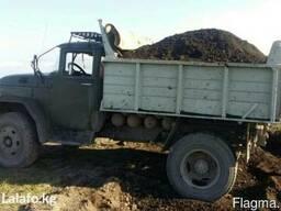 Чернозем ручной погрузки без мусора Доставка сыпучих грузов
