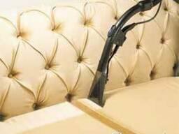 Чистка мягкой мебели и ковров на территории заказчика. - фото 1