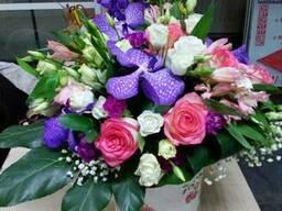 Цветочные букеты