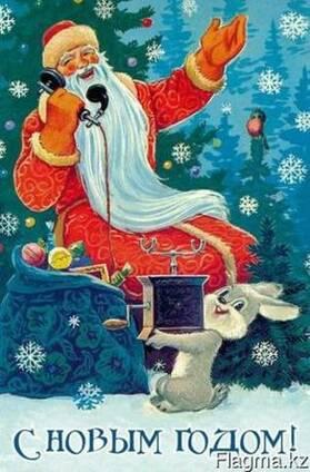 Дед Мороз и Снегурочка на дом Алматы
